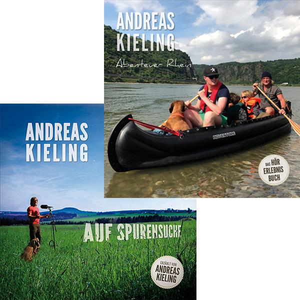 """Hörbuch Bundle - Zwei Alben zum Vorzugspreis """"Auf Spurensuche"""" & """"Abenteuer Rhein"""""""